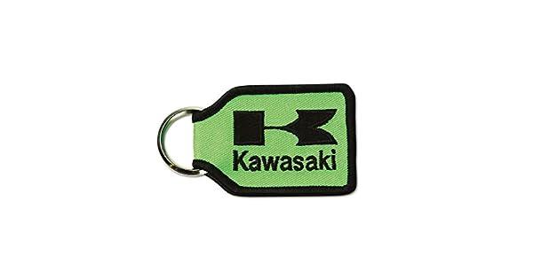 Amazon.com: Kawasaki Woven Llavero Llavero Verde K066 – 8914 ...