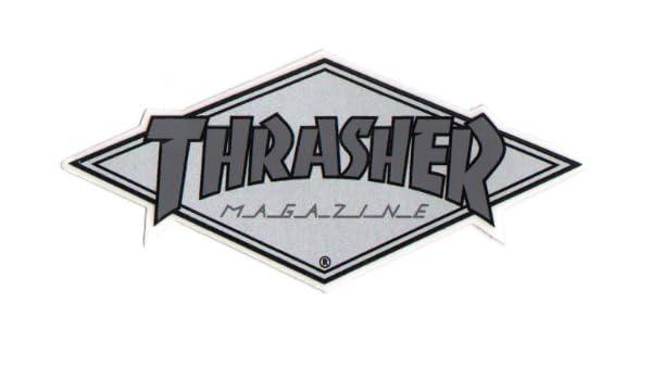 b175892b05a7 Amazon.com   Thrasher Magazine Skateboard Sticker. 10.5cm wide approx.  Skating skateboarding sk8 skate board punk   Sports   Outdoors