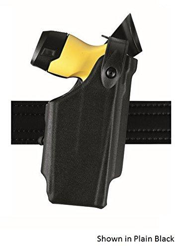 Safariland 6520-364-481 Belt Clip Black RH Basketweave Holster Fits X26P Taser
