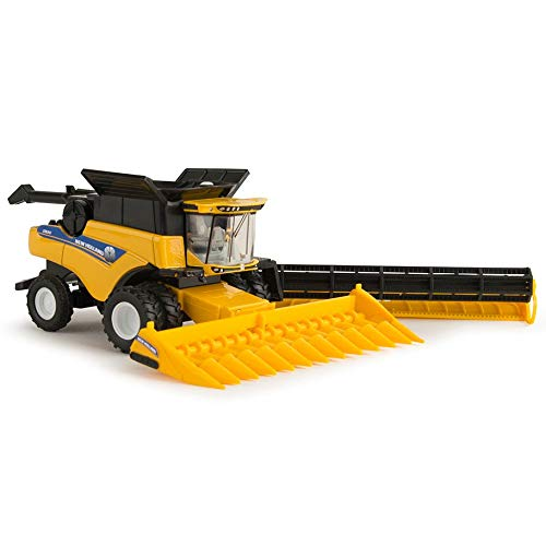ERTL 1/64th New Holland CR8.90 Combine with 2 Headers