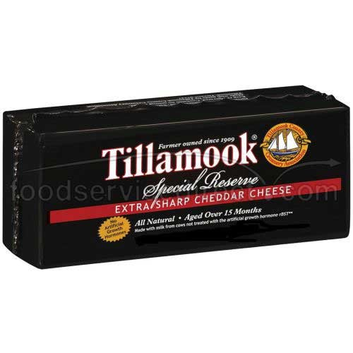 Tillamook Special Reserve Extra Sharp Cheddar Cheese Loaf, 10 Pound - each. by Tillamook
