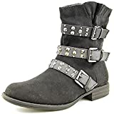 Hailey Jeans Co. Tate Round Toe Synthetic Mid Calf Boot