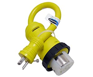 Amazon.com: Conntek 14422 RV Pigtail Adapter 15 Amp Male