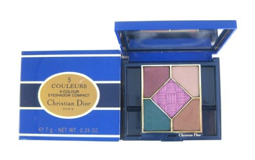 Christian Dior 5 Couleurs/5-Colours Eyeshadow Compact Palette 7 g/0.24 oz Final 902 Final: Brun Pourpre/Brownish Purple, Beige Nacre/Beige Pearl, Brun Dore/Gilded Brown, Vert Paon/Peacock Green, Cardinal Violet