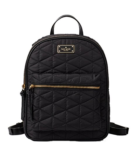 Kate Spade Small Bradley Wilson Road Quilted Backpack, Black