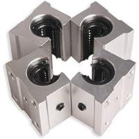 Unidades Tenflyer 4 SBR12UU 12 mm de aluminio