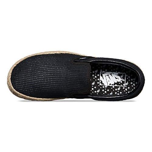 3ebb438d31b477 Vans U Classic Slip-On Espadrille (Mesh) Black VN0004KS7LM - Import It All