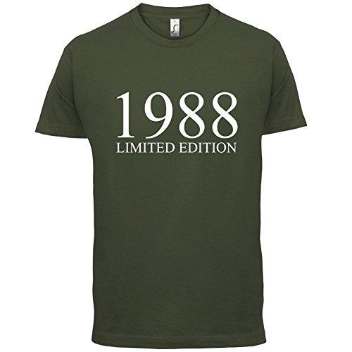 1988 Limierte Auflage / Limited Edition - 29. Geburtstag - Herren T-Shirt - Olivgrün - M
