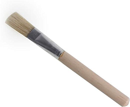 Queta – Cepillo de limpieza para molinillos de café, herramienta de limpieza de cafetera, mango de madera y accesorios de polvo de madera de cerdas naturales para herramientas de café de grano.: