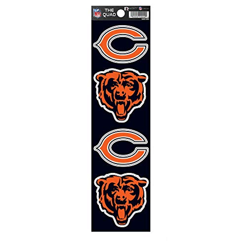 chicago bear stickers - 4