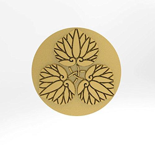 超美品 三つ軸違い葵 家紋 ピンバッチ ピンバッチ B01MTER3RM 18Kゴールド 18Kゴールド B01MTER3RM, まるせんギョウザ:3339ee81 --- arianechie.dominiotemporario.com