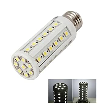Urparcel E27 8W Led 5050 Smd Pure White Corn Light Bulb Lamp