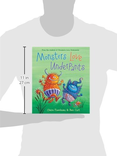 Amazon monsters love underpants the underpants books amazon monsters love underpants the underpants books 9781481442527 claire freedman ben cort books fandeluxe Image collections