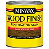 Minwax 70012 1 Quart Wood Finish Interior Wood Stain, Dark Walnut