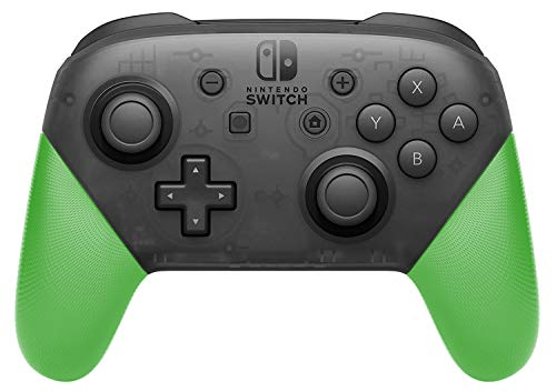 (Anti-Slip Grip Shell for Switch Pro Controller, DIY Delicate and Textured Replacement Grip Handles Cover Shell for Nintendo Switch Pro Controller(Green))
