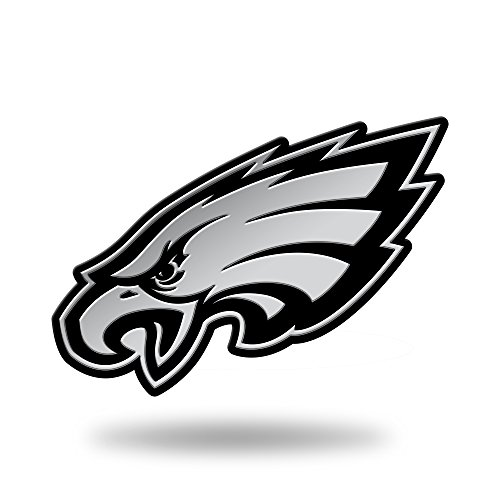 Rico Industries NFL Philadelphia Eagles Chrome Finished Auto Emblem 3D - Nfl Gear