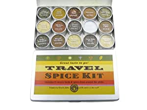 Travel Spice Kit by Grapevine Trading