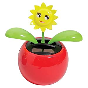 Amazon Com One Solar Powered Dancing Sunflower Toys Amp Games