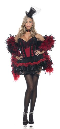 Be Wicked Speak Easy Saloon Girl Adult Costume - Medium/L...