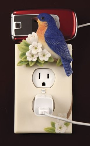 Bluebird Electric Outlet Cover