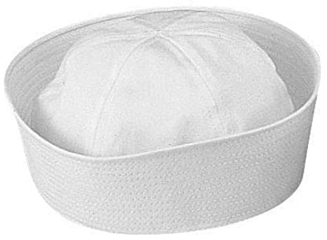 White Military Army US Navy USN Type Dixie Cup Sailor Hats (24 Pieces)   Amazon.in  Clothing   Accessories 906c4a362ec