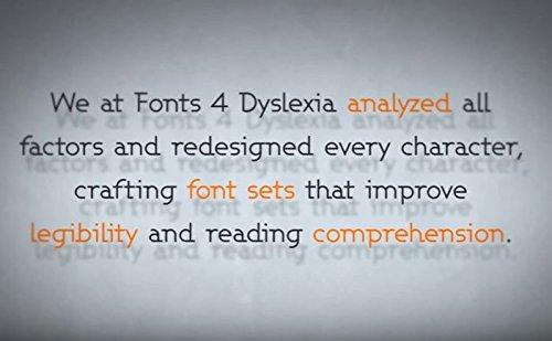 Amazon.com: Dyslexia Font | Ez-Read/Ez-Write Fonts | 12 Amazing ...