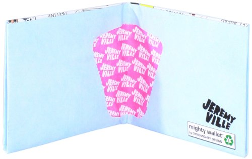 Stuff Happens' Jeremy Ville Mighty Tyvek Wallet Brieftasche by Dynomighty Designs