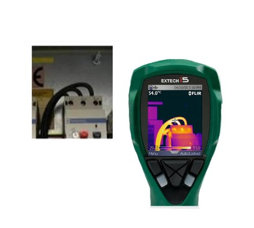 Extech i5 Thermal Imaging Camera - Part# IRC40 (Discontinued by Manufacturer) by FLIR (Image #3)