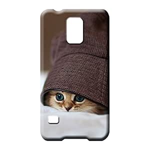 samsung galaxy s5 Impact Pretty High Grade Cases phone cover case cat in the hat