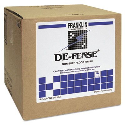 5 Finish Gallon Floor Cube (DE-Fense F135025 5 Gallon Non-Buff Floor Finish Cube)