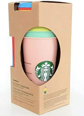 Single Starbucks Reusable Color Changing Cold Cups Summer 2019 24 oz One Cup