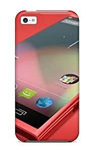 CagleRaymondy Iphone 5c Well-designed Hard Case Cover Nokia Lumia 925 Red Android Picture Protector