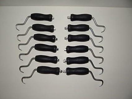 American Wire Tie - Rebar Tie Wire Twister - 12 pc pack w/sure grip ...