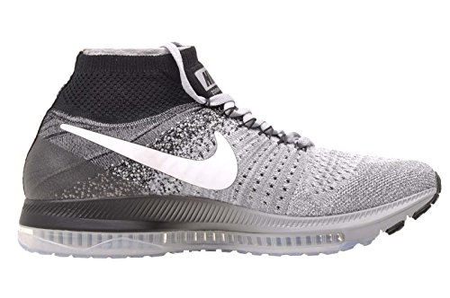 Zoom Women's Grey Nike White Shoes All Wolf Out Black Flyknit Running pOS1qaS