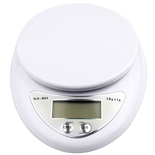 5000g/1g 5kg Food Diet Postal Kitchen Digital Scale scales balance weight weighting LED electronic - 2
