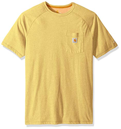 Carhartt Mens Big & Tall Force Delmont Short Sleeve T Shirt Relaxed Fit