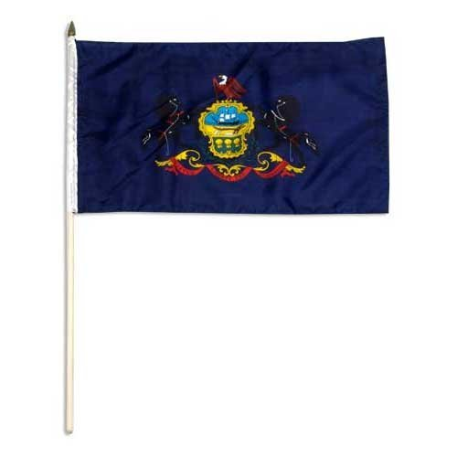 Us Flag Store Pennsylvania Flag, 12 by 18-Inch