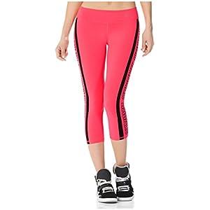 Babalu Fashion Printed Workout Capri Length Leggings for Women Running Colombian