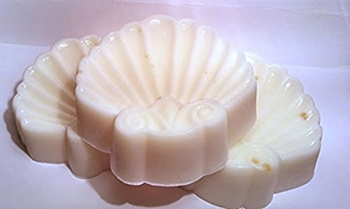 Black Rose Scented Seashell Shaped Shea Butter Goat Milk Soap - Set of ()