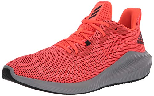 adidas Men's Alphabounce+ Running Shoe, Red, 17 M US