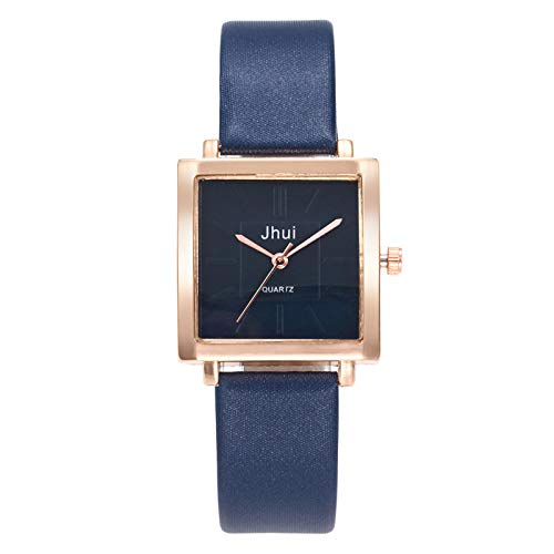 BBestseller Reloj de Pulsera,Moda Accesorios Reloj de Cuarzo Impermeable Marco Cuadrado Mirror Watches Relojes