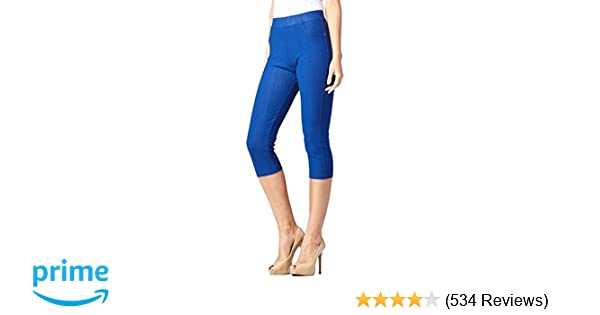 b28853213089e Conceited Premium Jeggings for Women - Full and Capri Length - Regular and  Plus Sizes - Breathable Cotton Blend at Amazon Women's Clothing store: