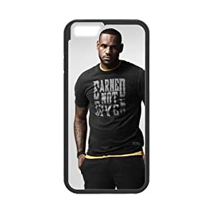 iPhone 6 Case, [lebron james] iPhone 6 (4.7) Case Custom Durable Case Cover for iPhone6 TPU case(Laser Technology)