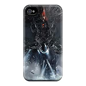Great Cell-phone Hard Covers For Iphone 4/4s (QOa17186wkeU) Unique Design Colorful Breaking Benjamin Image