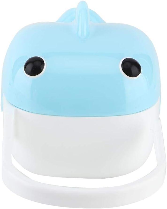 Cubierta del chupete no tiene BPA Caja port/átil de chupete Viaje Herramientas de uso al aire libre Juguetes para ni/ños Amarillo
