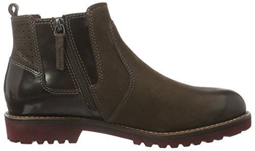 Chelsea Women's 3 Tan Boots Brown UK 25425 408 Black Tamaris USqEnq
