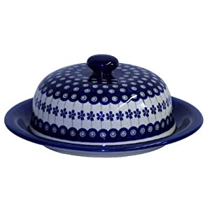 Original Boleslawiec Large Cheese Cover in the Decor 166a – GU-889/166a