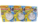 6 Nuby Sippy Gripper Replacement Spouts (3 Packages) for the 10 Oz Tall Nuby Sippy Gripper Cup. Model #9636