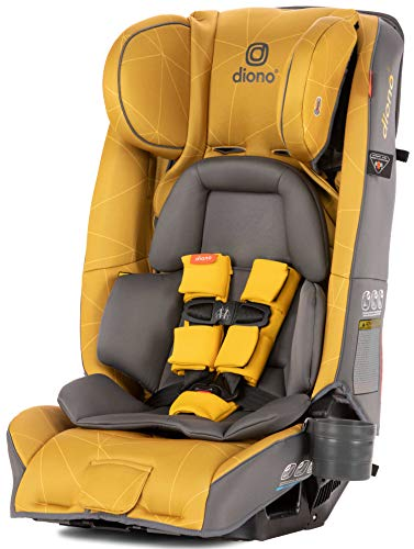 Diono Radian 3RXT All-in-One Convertible Car Seat, Yellow