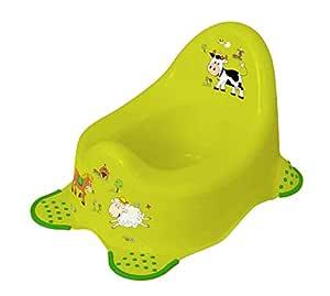 Keeper Funny Farm Baby Potty - Green